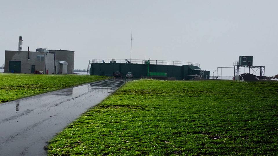 Biogasno postrojenje za proizvodnju električne energije snage 637 kW